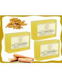 KHADI NATURAL CHANDAN HALDI SOAP (3 X 125 G)