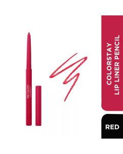 Revlon Colorstay Lip Liner Pencil - Red