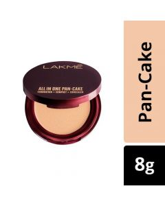 Lakme All In One Pan-Cake, 8 g Natural Coral