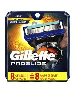 GILLETTE FUSION PROGLIDE MANUAL - 8 CARTRIDGES