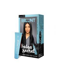 B BLUNT 1 BLACK SALON SECRET HAIR COLOR