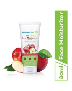 Mama Earth Oil-Free Moisturizer For Face With Apple Cider Vinegar For Acne Prone Skin