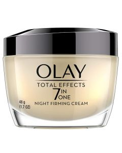 OLAY TOTAL EFFECTS NIGHT FIRMING CREAM FACE MOISTURIZER, 1.7 OZ