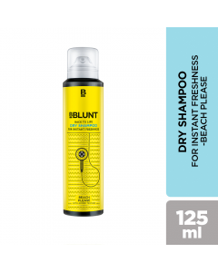B BLUNT BEACH PLEASE BACK TO LIFE DRY SHAMPOO 125ML