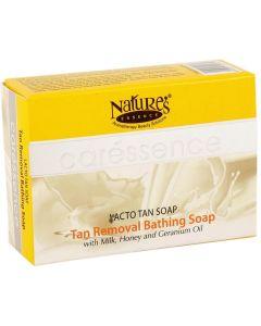 NATURE'S ESSENCE CARESSENCE LACTO TAN SOAP, 75G