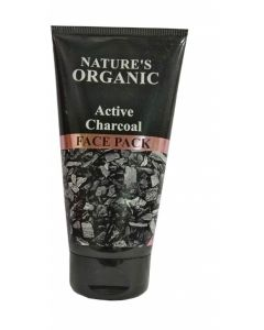 NATURE'S ESSENCE ACTIVE CHARCOAL FACE PACK (75GM)