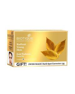 BIOTIQUE GOLD RADIANCE FACIAL KIT (65GM)