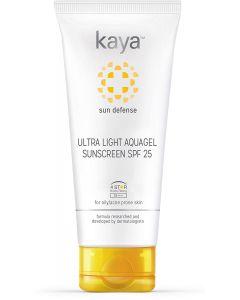 KAYA SKIN CLINIC SPF 25 ULTRA LIGHT AQUAGEL SUNSCREEN, 50ML