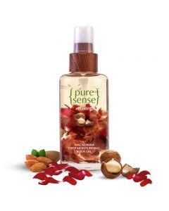 Pure Sense Moisturising Body Oil – Macadamia Nut Oil, Almond Oil & Rose Petals, 100 ml