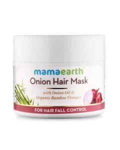 MAMA EARTH ONION HAIR MASK FOR HAIR FALL CONTROLL 200ML