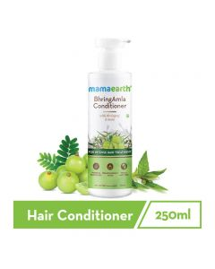Mama Earth BhringAmla Conditioner for hair fall with Bhringraj & Amla for Intense Hair Treatment – 250ml