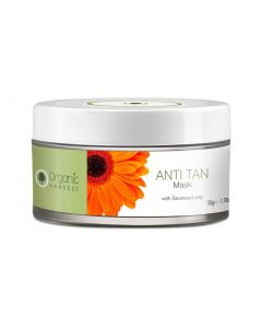 Organic Harvest Anti Tan Mask With Seaweed Jelly  50GM