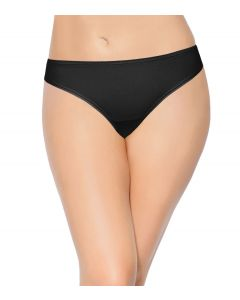 ENAMOR Polyamide Bikini Low Waist PANTY - Black (P000)