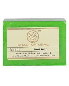 KHADI NATURAL KHUS HANDMADE SOAP, 125